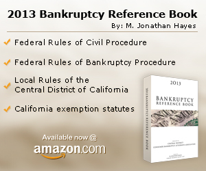 M. Jonathan Hayes - 2013 Bankruptcy Reference Book