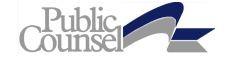 Public Counsel Logo